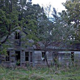 landscape kansas architecture weathered abandonedhouse