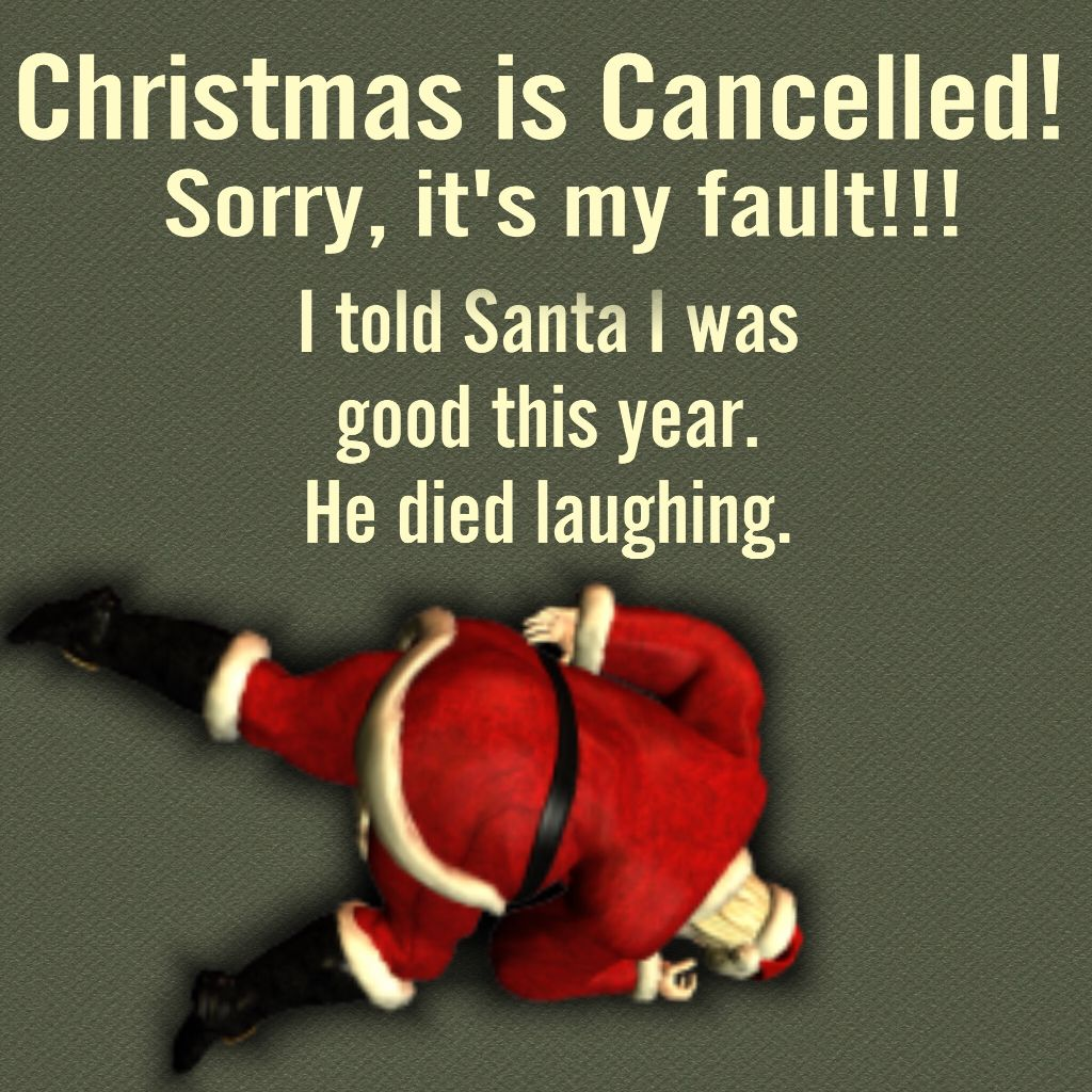 Holidayquotes Santa Puns Funny Getting In The Holiday
