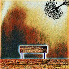 freetoedit tree bench effects blackandwhite