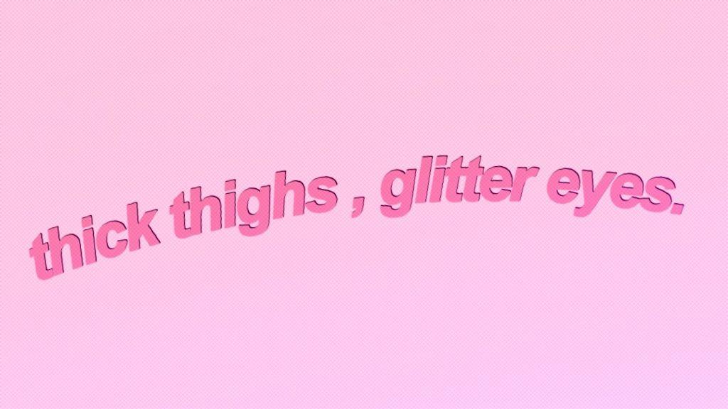 #pink #pinkaesthetic #pinktext #kawaii #words #thickthighs #makeup #tumblraesthetic #aesthetic