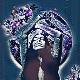 remix spaceart midnightblue freetoedit