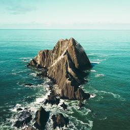 freetoedit nature sea cliff
