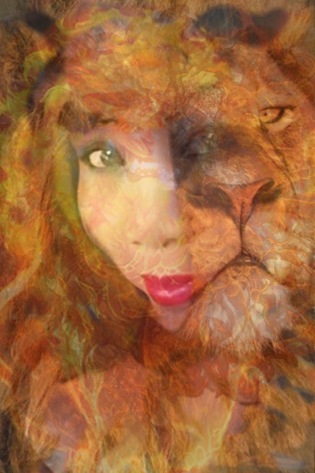 #FreeToEdit #doubleexpossure #me #lion #artisticselfie #selfie #selfieselfie