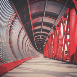 bridge photography hdrphotography red metallic