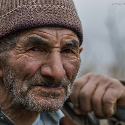 old_man portrait iran guilan amlash