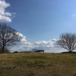 japan osaka bluesky sunshines hills