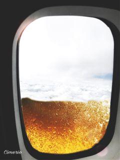 beer voyage clouds