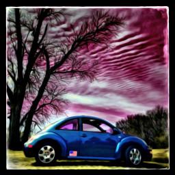 volkswagen volkswagenbeetle mybug madewithpicsart artisticedit