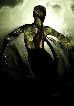 doubleexposure interesting mothernature woman freedom dance butterfly