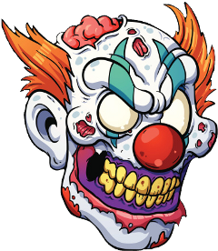 zombie clown killerclown freetoedit