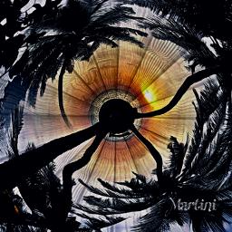 freetoedit mystic blackhole sunset sunny