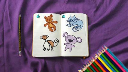 sketchbook freetoedit drawings animals basic