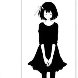 animegirl darkaesthetic