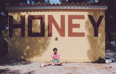 summer honey portrait